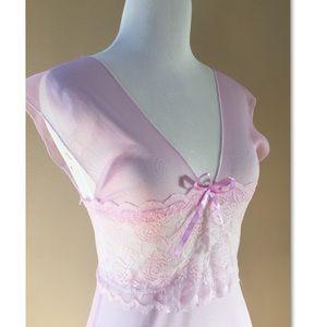 NWOT Lavender Stretchy Lace Nightie XXS-XS